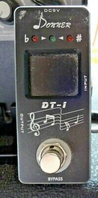 $ CDN31.70 • Buy Donner Dt-1 Chromatic Guitar Tuner Pedal True Bypass