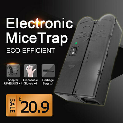 £22.99 • Buy Electronic Mouse Trap Mice Rat Killer Pest Victor Control Electric Zapper Rodent