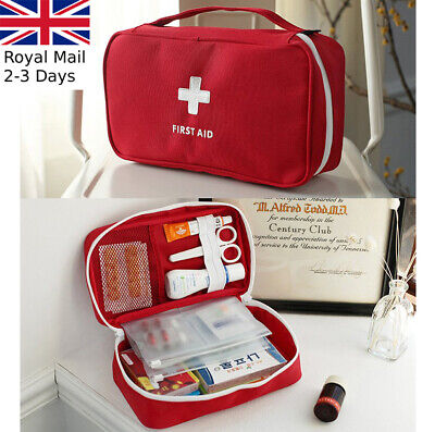£6.59 • Buy First Aid Kit Bag Emergency Medical Survival Treatment Rescue Empty Box Case
