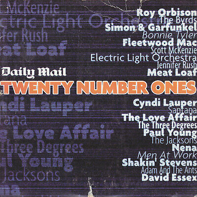 £1.50 • Buy Daily Mail Twenty Number Ones PROMO MUSIC CD