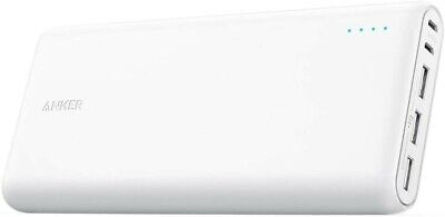 AU89.02 • Buy Anker PowerCore 26800 Portable Charger Double-Speed 3 USB White NEW