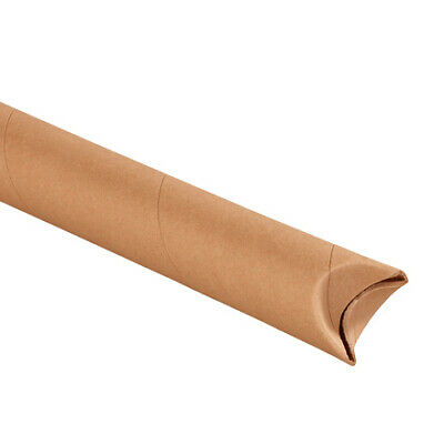 $55.93 • Buy Snap Seal Kraft Mailing Tubes, 2 X 18 Inches, Pack Of 50, For Shipping
