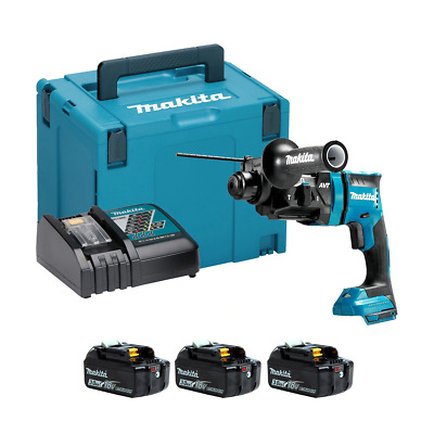Makita DHR182RFJ-3 18v SDS+ Brushless Rotary Hammer Drill (3x3Ah) • 364£