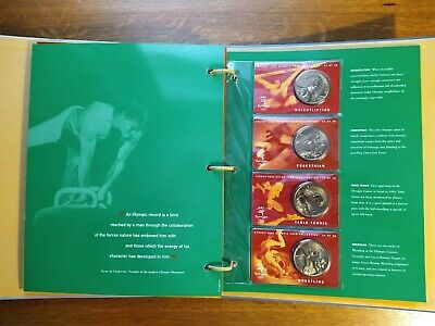 £150 • Buy Sydney 2000 Olympic $5 Coin Collection. Set Of 28 Bronze Coins With Folder.