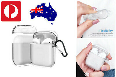 AU6.49 • Buy Shockproof For Apple Airpods Airpod Case Cover Clear Transparent Skin Holder TPU