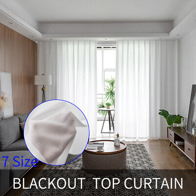 Thick Thermal Blackout Curtains Pair Of Eyelet Ring Top Ready Made Curtain Panel • 20.99£