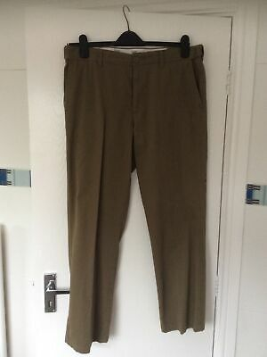 Men's BHS Atlantic Bay Size 34 Short Brown. Regular Cotton Casual Jeans • 10£