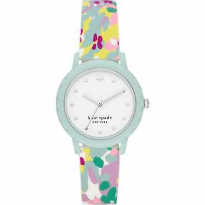 $ CDN75.47 • Buy Kate Spade New York Morningside 3-Hand Multicolored Silicone 34mm Watch KSW1640