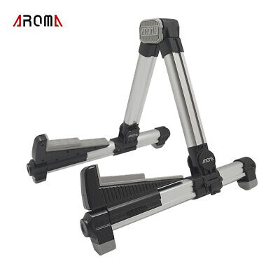 $ CDN45.64 • Buy AROMA AGS-08 Folding Adjustable Universal String Instrument Guitar Stand B2D9