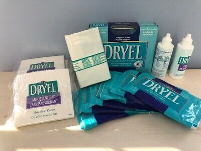 DRYEL Dry Cleaning Original Cloths, Pads, Stain Removers & BAG (Discontinued) • 17.67£