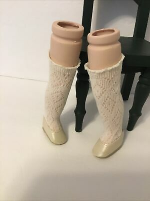 """$ CDN17.56 • Buy 6"""" Long Porcelain Doll Legs-Doll Shoes And Stockings See Pictures- Repair  P4)"""