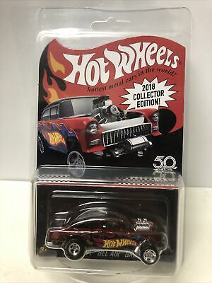 $ CDN55.82 • Buy Hot Wheels 2018 Collector Edition Mail In Red '55 Chevy Bel Air Gasser
