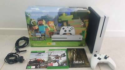 AU320 • Buy LIKE NEW Xbox One S 500gb Minecraft Special Edition   Games