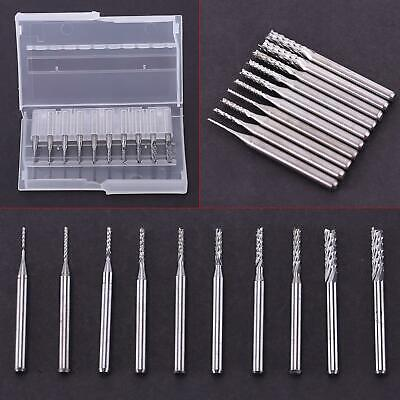 $11.20 • Buy End Mill 0.8mm-3.17mm Engraving Bits Cutter Tool For CNC 1/8'' Shank NCZ