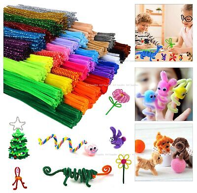KnF Creative Childrens Kids Craft Chenille Stems Pipe Cleaners 30cm  • 1.70£
