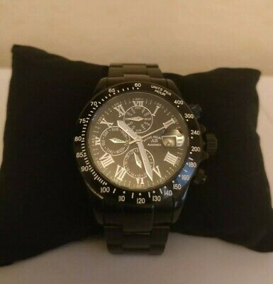 £285 • Buy Andre Belfort Gents Watch (new) Sapphire Crystal 5ATM Mod. AB-8110 Automatic