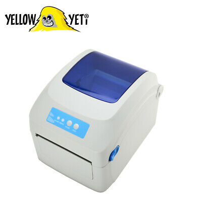 Thermal Label Printer 4 X 6   USB Label Printer For Warehouse Parcel Post • 89.99£