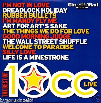 £1.19 • Buy THE BEST OF 10cc DAILY MAIL PROMO CD (FREE UK POST)