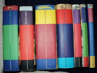 $ CDN265.48 • Buy Harry Potter Complete Set Of 7 Hardback Bloomsbury 1st Edition Books