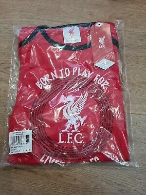 Baby Toddler Liverpool FC Official Football Pyjamas - 9-12 Months - BRAND NEW • 6.99£
