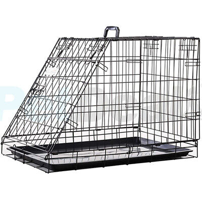 £79.95 • Buy Strong Half Boot Sloped Car Crate With Fitted Tray   Available In Large & Xlarge