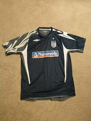 England Football Training Top Good Condition Make Umbro Size Large • 10£