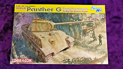 Dragon 6267 1:35 Panther G Early Prod. Pz.Rgt.26 Italian Front Model Kit SEALED • 56.99£