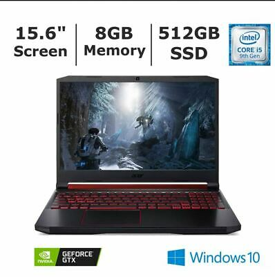 AU978.67 • Buy Brand New Seal Acer Nitro 5 AN515-54-599H Gaming Laptop I5 8GB 512GBSSD 4GBVideo