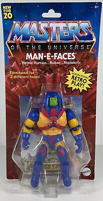 $26 • Buy  Mattel Masters Of The Universe Origins Man-E-Faces Figure - 2020, New, In Stock