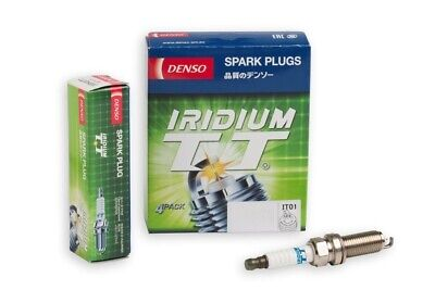 AU63.75 • Buy Denso Iridium TT Spark Plugs For Toyota Corolla 1.8L 4Cyl 16V 2ZR-FE ZRE182