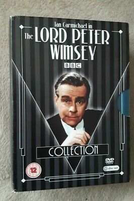 THE LORD PETER WIMSEY COLLECTION Ian Carmichael. 10 Disc Box Set. UK R2 DVD  • 32.99£