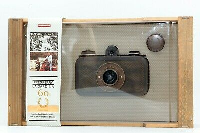 【RARE Item! Almost Unused】 Lomography LA SARDINA 60th Year Of Fred Perry Limited • 283.66£