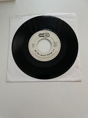 Blink 182 - All The Small Things / Dumped (Live) - WHITE LABEL - Vinyl 45rpm • 75£