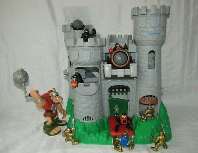 Fisher Price Adventure Castle Vintage Imaginext With Knights & Ogre • 59.95£
