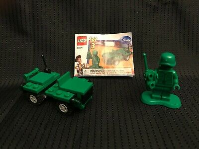 Lego 30071 - Toy Story 3 - Army Jeep W/ Minifigure And Instructions • 4.36£