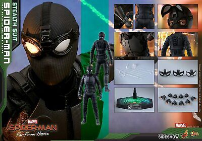 $ CDN249.03 • Buy IN STOCK Hot Toys MMS540 Spider-Man Far From Home Stealth Suit Ver 1/6 Figure