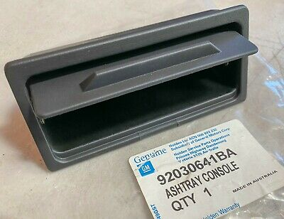 AU120 • Buy Genuine Vn Vg Vp Vq Vr Vs Calais Berlina Hsv Ss Grey Console Ashtray Gm 92030641