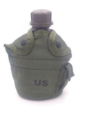 $ CDN37.55 • Buy US Military Green 1-Quart Water Canteen And Cover  Reyes Industries LC-2 Nice