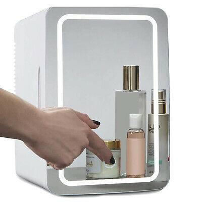 AU83.65 • Buy 8L Mini Makeup Fridge Mirror Car Cosmetic Refrigerator Portable Beauty Cooler
