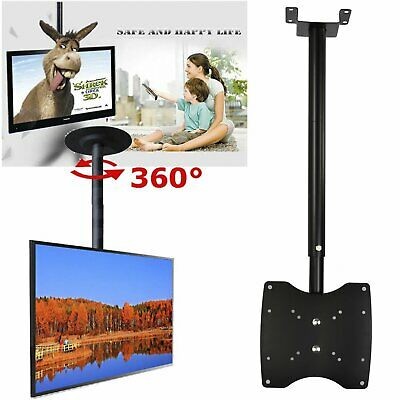 Folding TV Roof Ceiling Bracket Wall Mount For 23 26 27 32 Inch LCD LED Monitor • 11.89£