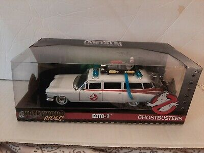 Ghostbusters Ecto-1 Metal Diecast 1/24 Hollywood Rides New 11  Jada Toys • 50.64£