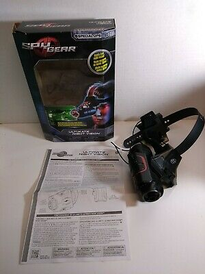 Spin Master Spy Gear Ultimate Night Vision Goggles With Box And Instructions  • 50.67£