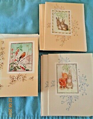 Vintage Christmas Cards - Lot Of 14 Asst - English Artist Margaret Tarrant • 18.09£