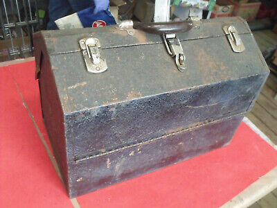 £47 • Buy Vintage Kennedy Kits Cantalever Tool Box Model 1018 Plumber / Electrician Chest