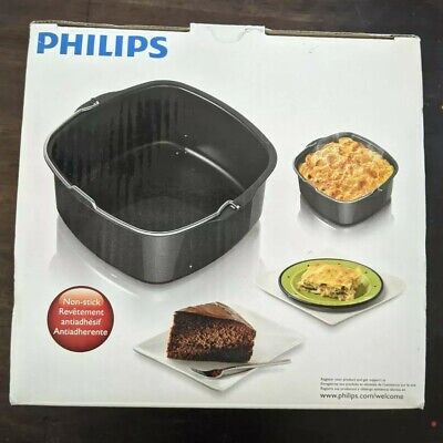 AU35.17 • Buy Genuine Philips HD9925 Airfryer Baking Accessory Pan For Viva Collection
