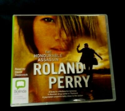 AU30.99 • Buy The Honourable Assassin By Roland Perry CD Audio Book