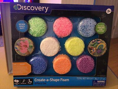 Discovery - Create A Shape Foam Set - Kids Arts And Crafts New Boxed • 14.99£