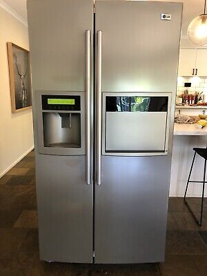 AU775 • Buy Lg 621l Side By Side Fridge Freezer + Water + Ice