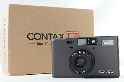 $ CDN3368.60 • Buy [MINT In BOX] Contax T3 D T3D Single Teeth Titanium Black Point & Shoot (421)