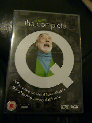 Spike Milligan- The Almost Complete Q Dvd Boxset. • 16£